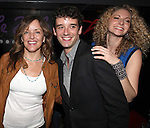 Alice Ripley, Michael Urie and Lauren Molina attend the opening night performance reception for the Keen Company production of Marry Me A Little at the Clurman Theatre in New York City on10/2/2012.