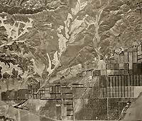 historical aerial photograph Simi Valley, Ventura County, 1947