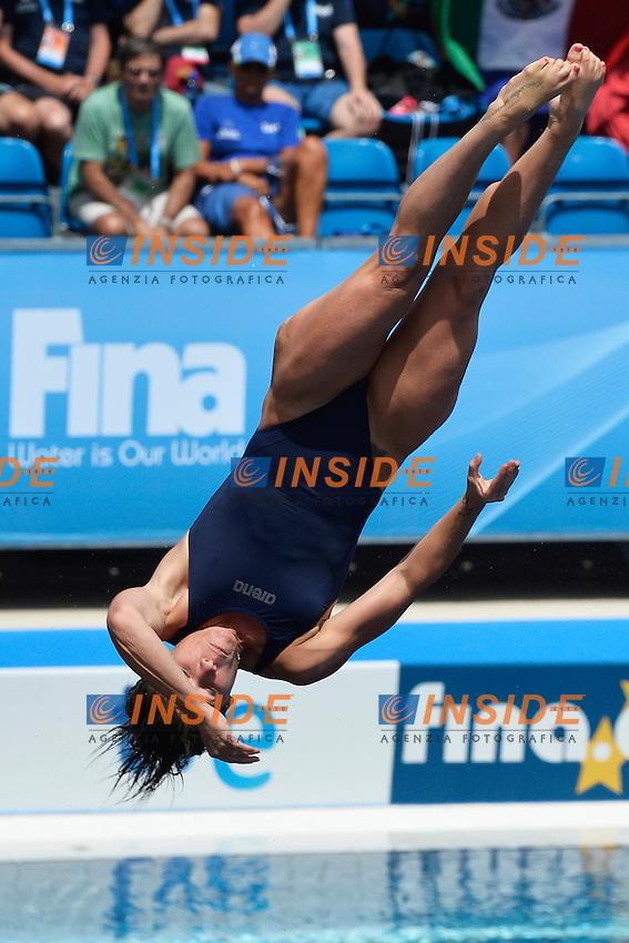 Maria Marconi Italia <br /> Diving Women's 3m Springboard - Tuffi Trampolino 3m Donne  <br /> Barcellona 26/7/2013 Piscina Municipal <br /> Barcelona 2013 15 Fina World Championships Aquatics <br /> Foto Andrea Staccioli Insidefoto