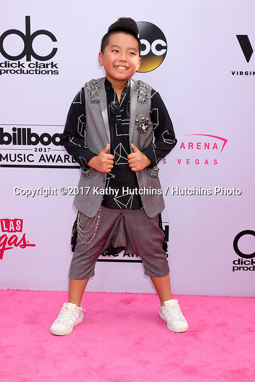 LAS VEGAS - MAY 21:   Aidan Prince Xiong at the 2017 Billboard Music Awards - Arrivals at the T-Mobile Arena on May 21, 2017 in Las Vegas, NV