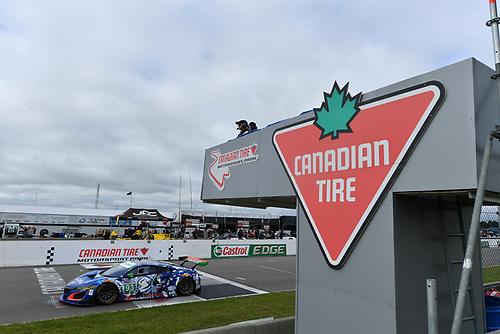 IMSA WeatherTech SportsCar Championship<br /> Mobil 1 SportsCar Grand Prix<br /> Canadian Tire Motorsport Park<br /> Bowmanville, ON CAN<br /> Saturday 8 July 2017<br /> 93, Acura, Acura NSX, GTD, Andy Lally, Katherine Legge<br /> World Copyright: Richard Dole/LAT Images<br /> ref: Digital Image DOLE_CTMP_17_001186