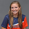 Halle Palmedo of Manhasset poses for a portrait during Newsday's Varsity Girls Soccer Season Preview photo shoot at company headquarters on Friday, Sept. 1, 2017.