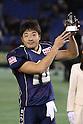 "Noriaki Kinoshita (Seagulls), .DECEMBER 19, 2011 - American Football : .X League Championship ""Japan X Bowl"" .between Obic Seagulls 24-17 Fujitsu Frontiers .at Tokyo Dome, Tokyo, Japan. .(Photo by YUTAKA/AFLO SPORT) [1040]"