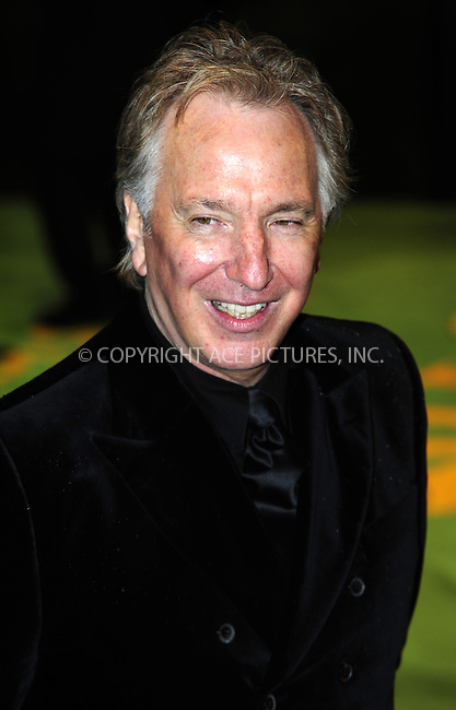"WWW.ACEPIXS.COM . . . . .  ..... . . . . US SALES ONLY . . . . .....February 25 2010, New York City....Alan Rickman at the UK premiere of ""Alice in Wonderland"" on February 25 2010 in London......Please byline: FAMOUS-ACE PICTURES... . . . .  ....Ace Pictures, Inc:  ..tel: (212) 243 8787 or (646) 769 0430..e-mail: info@acepixs.com..web: http://www.acepixs.com"