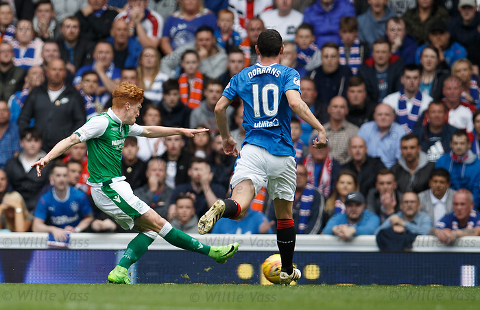 Simon Murray scores for Hibs