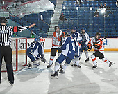 Sudbury, ON - April 26 2018 - Game 12 - Sudbury Nickel Capital Wolves vs Cantonniers de Magog at the 2018 TELUS Cup at the Sudbury Community Arena in Sudbury, Ontario, Canada (Photo: Matthew Murnaghan/Hockey Canada)