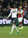 Tottenham's Dele Alli looks on dejected at the final whistle during the Premier League match at the London Stadium, London. Picture date: May 5th, 2017. Pic credit should read: David Klein/Sportimage
