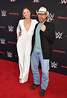 NORTH HOLLYWOOD, CA - JUNE 06: Ronda Rousey (L) and Shawn Michaels attend WWE's first-ever Emmy 'For Your Consideration' event at Saban Media Center on June 6, 2018 in North Hollywood, California.<br /> CAP/ROT/TM<br /> &copy;TM/ROT/Capital Pictures