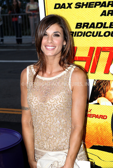 WWW.ACEPIXS.COM....August 14, 2012, Los Angeles, CA.......Elisabetta Canalis arriving at the premiere of 'Hit and Run' on August 14, 2012 in Los Angeles, California. ......By Line: Nancy Rivera/ACE Pictures....ACE Pictures, Inc..Tel: 646 769 0430..Email: info@acepixs.com