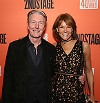 "Byron Jennings and Carolyn McCormick  attend the Second Stage Production of ""Days Of Rage"" at Tony Kiser Theater on October 30, 2018 in New York City."