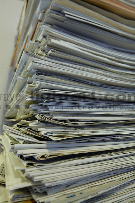 Waste-paper, Altpapier, recycled paper, Liechtenstein