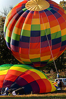 .Thousands of hot air balloon enthusiasts turn out each year for the annual Carolina BalloonFest, held each fall in Statesville, NC. Photos were taken at the October 2008 event...For more information, visit www.carolinaballoonfest.com.