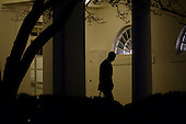 United States President Barack Obama walks out of the Oval Office toward the Residence while departing the White House, on January 28, 2016 in Washington, DC. President Obama is traveling to Baltimore, Maryland to deliver remarks and answer questions at the House Democratic Issues Conference. <br /> Credit: Olivier Douliery / Pool via CNP