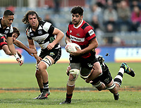 Action from the Mitre 10 Cup rugby match between Canterbury and Hawkes Bay at Christchurch Stadium in Christchurch, New Zealand on Sunday, 30 September 2018. Photo: Martin Hunter / lintottphoto.co.nz