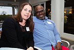 WATERBURY,  CT-050719JS18- Ann Marie Wright and her husband Floyd Wright, at the Waterbury Youth Services Grill & Chill event held at the Country Club of Waterbury. Waterbury Youth Services are celebrating 43 years of helping area youth. <br /> Jim Shannon Republican American