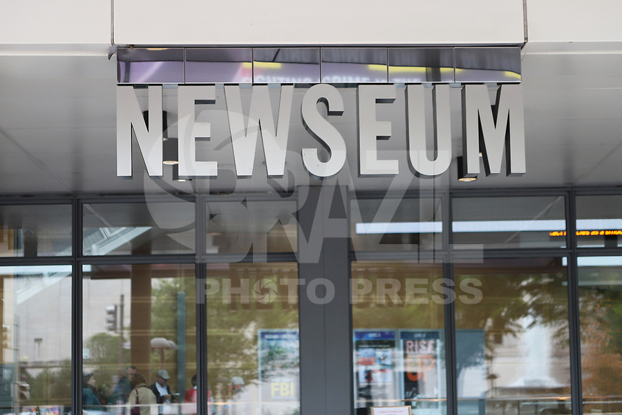 WASHINGTON DC, EUA, 08.10.2019 - TURISMO-WASHINGTON DC - Newseum, na cidade de Washington DC, capital dos Estados Unidos, nesta terça-feira, 8. (Foto Charles Sholl/Brazil Photo Press/Folhapress)