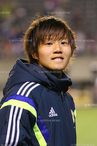 Chinatsu Kira (JPN), <br /> MAY 6, 2014 - Football /Soccer :  <br /> International friendly match<br /> between Japan 2-1 New Zealand <br /> at Kincho Stadium, Osaka, Japan. (Photo by Yohei Osada/AFLO SPORT)