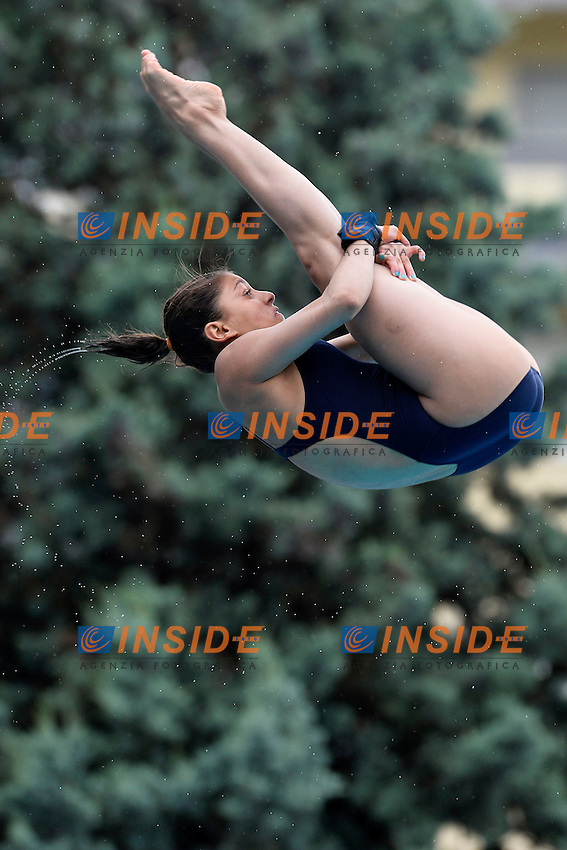 Carolina Mendoza Mexico <br /> Bolzano 28/6/2013 Piscina Lido<br /> 19th Fina Diving Grand Prix <br /> Women's 10m Platform Preliminary <br /> Tuffi <br /> Foto Andrea Staccioli Insidefoto