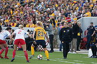 Sandy, UT - Saturday April 14, 2018: Laura Harvey during a regular season National Women's Soccer League (NWSL) match between the Utah Royals FC and the Chicago Red Stars at Rio Tinto Stadium.
