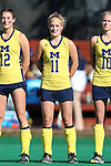 14 November 2015: Michigan's Veerle Lubbers (NED). The Wake Forest University Demon Deacons played the University of Michigan Wolverines at Francis E. Henry Stadium in Chapel Hill, North Carolina in a 2015 NCAA Division I Field Hockey Tournament First Round match. Michigan won the game 2-1.