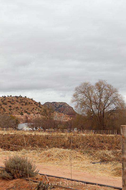 view looking north toward warren jeffs home, el capitan, Friday November 30, 2012.