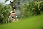 TAIPEI, TAIWAN - NOVEMBER 19:  John Benda of USA tees off on the 10th tee during day two of the Fubon Senior Open at Miramar Golf & Country Club on November 19, 2011 in Taipei, Taiwan.  Photo by Victor Fraile / The Power of Sport Images
