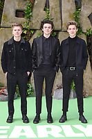 "New Hope Club<br /> arriving for the ""Early Man"" world premiere at the IMAX, South Bank, London<br /> <br /> <br /> ©Ash Knotek  D3369  14/01/2018"