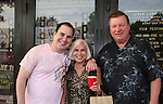 "Kenneth Del Vecchio with his mom and dad as they attend the Filmmakers' Reception and Opening Night of the Hoboken International Film Festival - World Premiere Screening of ""An Affirmative Act"" - the first-ever courtroom drama about the legalization of Gay marriage on June 3, 2010 at the Cedar Lane Cinemas, Teaneck, New Jersey. (Photo by Sue Coflin/Max Photos)"