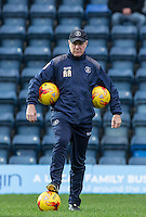 Luton Town Academy & Development Manager Andy Awford during the Sky Bet League 2 match between Wycombe Wanderers and Luton Town at Adams Park, High Wycombe, England on 6 February 2016. Photo by Andy Rowland.