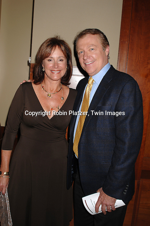 Hillary B Smith and Jerry verDorn..at The Feast with Famous Faces 2007 Gala benefitting..The League for the Hard of Hearing on October 22, 2007 at Pier Sixty at Chelsea Piers. ..Robin Platzer, Twin Images