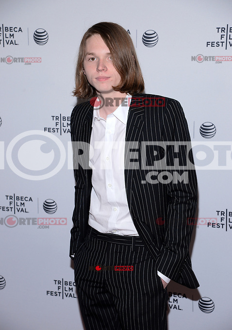 NEW YORK, NY - APRIL 24, 2014: Actor Jack Kilmer attends the screening Premiere of  Palo Alto during the 2014 Tribeca Film Festival at SVA Theater on April 24, 2014 in New York City  © HP/Starlitepics /NortePhoto