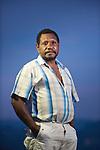 Head of Lobo Village, Leonardo Sisaufa, one of the more active voices for conservation in Triton Bay, papua.