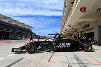 2nd November 2019; Circuit of the Americas, Austin, Texas, United States of America; Formula 1 United Sates Grand Prix, qualifying day; Haas F1 Team, Romain Grosjean - Editorial Use