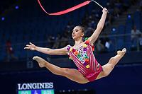 August 31, 2017 - Pesaro, Italy - KATRIN TASEVA of Bulgaria performs  at 2017 World Championships.