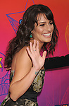 SANTA MONICA, CA. - August 02: Lea Michele arrives at the FOX 2010 Summer TCA All-Star Party at Pacific Park - Santa Monica Pier on August 2, 2010 in Santa Monica, California.