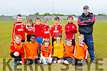 U8's and U9's at the St BRENDAN'S PARK FAMILY DAY BLITZ at Christy Leahy Park on Saturday