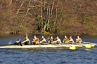 047 .HAM-Swarbrick .J18A.8+ .Hampton Sch BC. Wallingford Head of the River. Sunday 27 November 2011. 4250 metres upstream on the Thames from Moulsford railway bridge to Oxford Universitiy's Fleming Boathouse in Wallingford. Event run by Wallingford Rowing Club..