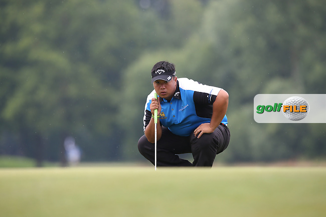 Alexandre Kaleka (FRA) cards a 68 with many frustrations during Round Three of the 2015 BMW International Open at Golfclub Munchen Eichenried, Eichenried, Munich, Germany. 27/06/2015. Picture David Lloyd | www.golffile.ie