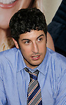 "HOLLYWOOD, CA. - September 15: Actor Jason Biggs  arrives at the world premiere of ""My Best Friend's Girl"" at The Arclight Hollywood on September 15, 2008 in Hollywood, California."