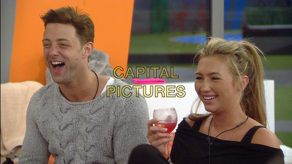 Ricci Guarnaccio, Lauren Goodger	<br /> in Celebrity Big Brother - Summer 2014 (Day 11)<br /> *Editorial Use Only*<br /> CAP/NFS<br /> Image supplied by Capital Pictures