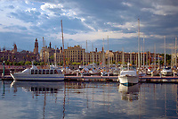 Marina, Port Vell, Barcelona, Spain, Luxury Yachts