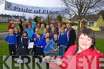 Kathleen Bailey and the residents of Iveragh Park housing estate, Killorglin celebrate winning the Fa?ilte Pride of Place award on Monday