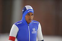 SCHAATSEN: DEVENTER: IJsbaan De Scheg, 26-10-12, IJsselcup, winnares 500m Anice Das, baanrecord 39.75, ©foto Martin de Jong