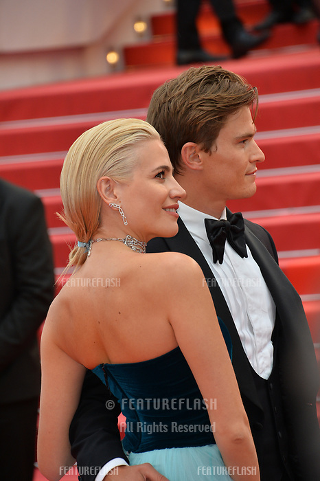 "CANNES, FRANCE. May 20, 2019: Pixie Lott & Oliver Cheshire at the gala premiere for ""La Belle Epoque"" at the Festival de Cannes.<br /> Picture: Paul Smith / Featureflash"