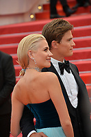 """CANNES, FRANCE. May 20, 2019: Pixie Lott & Oliver Cheshire at the gala premiere for """"La Belle Epoque"""" at the Festival de Cannes.<br /> Picture: Paul Smith / Featureflash"""