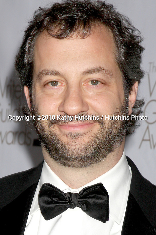 Judd Apatow.arriving at 2010 Writers Guild of America Awards.Century Plaza Hotel.Century City, CA.February 20, 2010.©2010 Kathy Hutchins / Hutchins Photo....