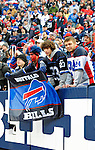 29 November 2009: Buffalo Bills fans celebrate a win against the Miami Dolphins at Ralph Wilson Stadium in Orchard Park, New York. The Bills defeated the Dolphins 31-14. Mandatory Credit: Ed Wolfstein Photo