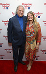 Stewart F. Lane and Bonnie Comley attends Broadway Salutes 10 Years - 2009-2018 at Sardi's on November 13, 2018 in New York City.