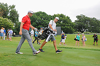 Jon Rahm (ESP) departs the third tee box during round 4 of the Dean &amp; Deluca Invitational, at The Colonial, Ft. Worth, Texas, USA. 5/28/2017.<br /> Picture: Golffile | Ken Murray<br /> <br /> <br /> All photo usage must carry mandatory copyright credit (&copy; Golffile | Ken Murray)