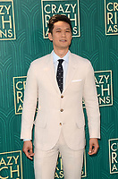 HOLLYWOOD, CA - AUGUST 7: Harry Shum Jr. at the premiere of Crazy Rich Asians at the TCL Chinese Theater in Hollywood, California on August 7, 2018. <br /> CAP/MPI/DE<br /> &copy;DE//MPI/Capital Pictures